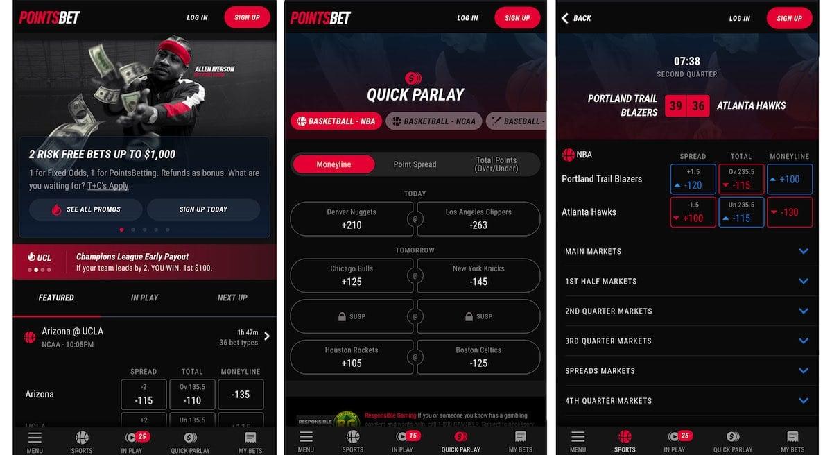 pointsbet indiana sportsbook app