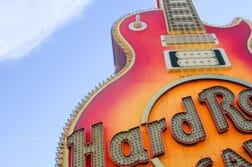Hard Rock sign