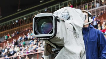 TV camera sports game