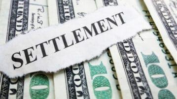 settlement money